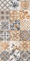 Плитка LASSELSBERGER облицовочная Сиена декор универс. 19,8*39,8 1041-0163