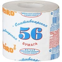 Бумага туалетная 56+М