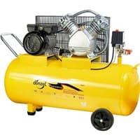 Компрессор DENZEL воздушный РС 2/100-370, 2,2 кВт, 370 л/мин, 100л 58091