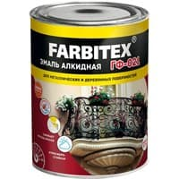 Грунтовка FARBITEX ГФ-021 серый 0,9кг