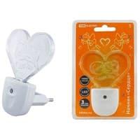 Ночник TDM LED Сердце с датчиком света SQ0357-0008
