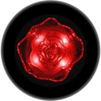 Ночник ULTRA LIGHT CZ-4A Роза 0,4Вт 220В LED, красный