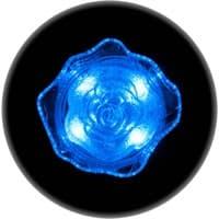 Ночник ULTRA LIGHT CZ-4A Роза 0,4Вт 220В LED, синий