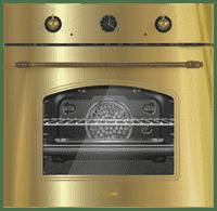 Встраиваемая электрическая духовка DAUSCHER BO6-GOLD