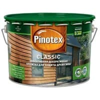 Пропитка PINOTEX Classic CLR 9л база под колеровку 5195422