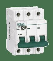 Автомат-выкл. ВА101-3Р-040А DEKraft 11082