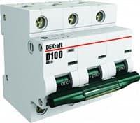 Автомат выкл. 3п 80А ВА201 DEKraft 13008