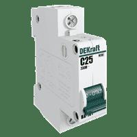 Автомат-выкл. ВА101-1Р-025А DEKraft 11056