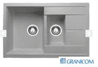 Мойка ГРАНИКОМ модель G-012 серебристый (790*495)