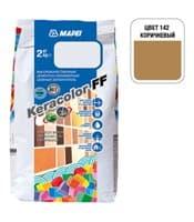 Затирка для швов MAPEI KERACOLOR FF 142 (2кг) коричневый 5N14202A
