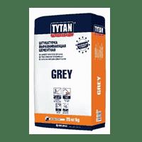 Штукатурка TYTAN цементная GREY BS33 (25кг) IKZB000060