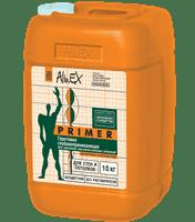 Грунтовка ALINEX Primer для стен и потолков,полимерная,морозостойкая 10кг