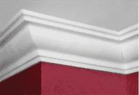 Плинтус ПЛИНТЭКС потолочный 2м K (K50/45А) (50шт)