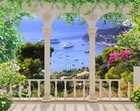Терасса с видом на море 866