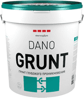 Грунт DANOGIPS глубокого проникновения Dano GRUNT 10л-10кг