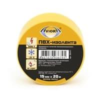 Изолента AVIORA желтая 15мм*20м арт.305-017