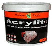 Клей ACRYLITE акриловый для потолочных плит (1,2кг)