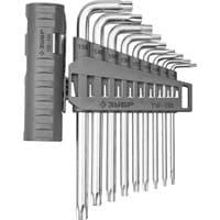 Ключи ЗУБР ЭКСПЕРТ имбусовые длинные TORX T10-T50, 9шт 14802-03-09