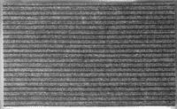Коврик KOVROFF БАРЬЕР влаговпитывающий ребристый 50*80см 21402 серый