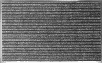 Коврик KOVROFF БАРЬЕР влаговпитывающий ребристый 60*90см 21302 серый