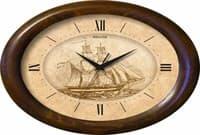 Часы настенные САЛЮТ ДС-ОБ23-196 Корабль 3