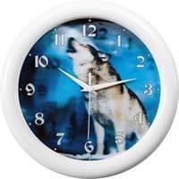 Часы настенные САЛЮТ П-3Б7-726 Волк 3D