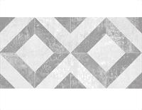 Плитка CLASSIC CERAMICA облицовочная TROFFI серый узор 20*40 (64,8/1,2/0,08) 08-01-06-1339