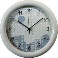 Часы настенные САЛЮТ SLT 3006 Night City 3D