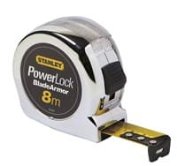 Рулетка STANLEY измерительная MICRO POWERLOCK BLADE ARMOR 8м*25мм 0-33-527