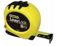 Рулетка STANLEY измерительная LEVERLOCK 8м*25мм 0-30-828