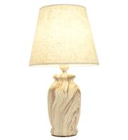 Светильник настольный ESCADA 10183/L E27*60W Cream marble