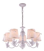 Светильник подвесной ESCADA 648/5S E14*40W White/Gold