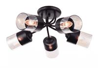 Светильник потолочный ESCADA 498/5PL E27*60W Black