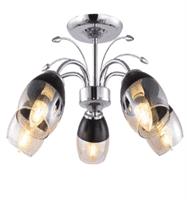 Светильник потолочный ESCADA 644/5PL E27*60W Chrome