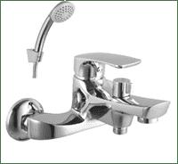 Смеситель SHAPE для ванны, хром LM1712C