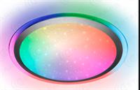 Светильник ESTARES управляемый светодиодный ARION 60W RGB R-535-SHINY/SILVER-220-IP44/2019