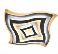 Светильник ESTARES управляемый светодиодный Geometria Quarto 80w q-650-white-220-ip44