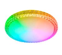 Светильник ESTARES управляемый светодиодный PLUTON RGB 60W R-520-CLEAR/SHINY-220-IP40/2019
