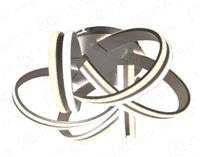 Светильник ESTARES управляемый светодиодный VOLNA DOUBLE 170W 6С-520/237-WHITE/OPAL-220-IP20