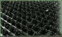 Покрытие ковровое KOVROFF щетинистое в рулонах 15*0,9м арт.139 Черный