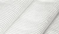 Полотно ECOLUFFA х/б вафельное отбеленное,ширина 50см, плотность 200гр/м2