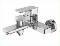 Смеситель BRICK для ванны с керамическим дивертором BRISB02i02