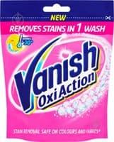 Порошок VANISH OXY ACTION для тканей 250гр мягкая упаковка