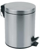 Ведро для мусора круглое DBM-01-12, матовое 12л. 310431