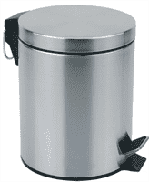 Ведро для мусора круглое DBM-01-20, матовое 20л. 310432
