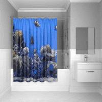 Штора IDDIS для ванной полиэстер Pacific Ocean 180*200 SCID190P
