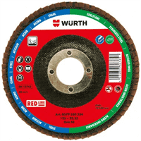 Диск WURTH лепестковый BR22.23-G60-D125  0579580326