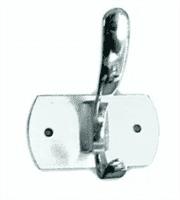 Крючок АКВАЛИНИЯ 2-ой хром 005-04