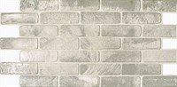 Панель ПВХ Кирпич старый серый 1025*495мм ТП10014022