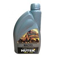 Масло моторное Huter 10W-40 полусинтетическое для четырехтактных двигателей,1л